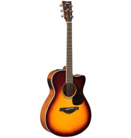 Yamaha - FSX820SC Folk Acoustic, Brown Sunburst
