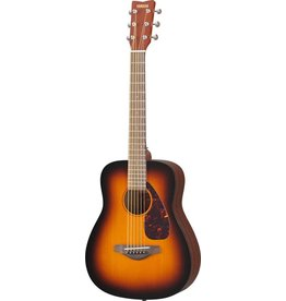 Yamaha - JR2S Travel Guitar w/Solid Top, Sunburst w/Gigbag