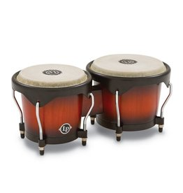 LP - LP601NY City Series Wood Bongos, Vintage Sunburst