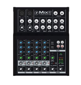 Mackie - Mix8 8 Channel Compact Mixer