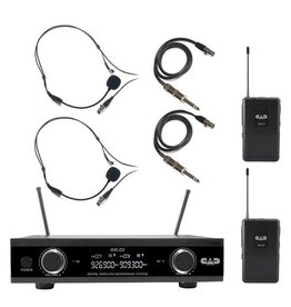 CAD - GXLD2 Digital Dual Wireless Headset System