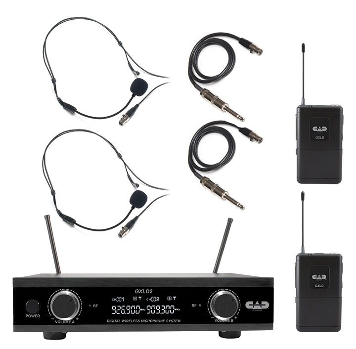 CAD - GXLD2 Digital Dual Wireless Headset System