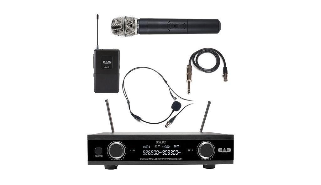 CAD - GXLD2 Dual Handheld/Beltpack Digital Wireless System