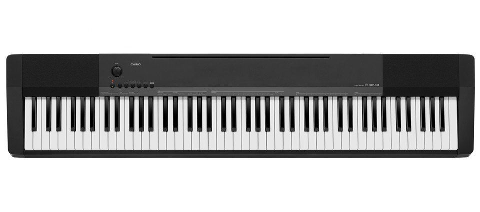 Casio - CDP-135BK 88key Digital Keyboard w/Stand