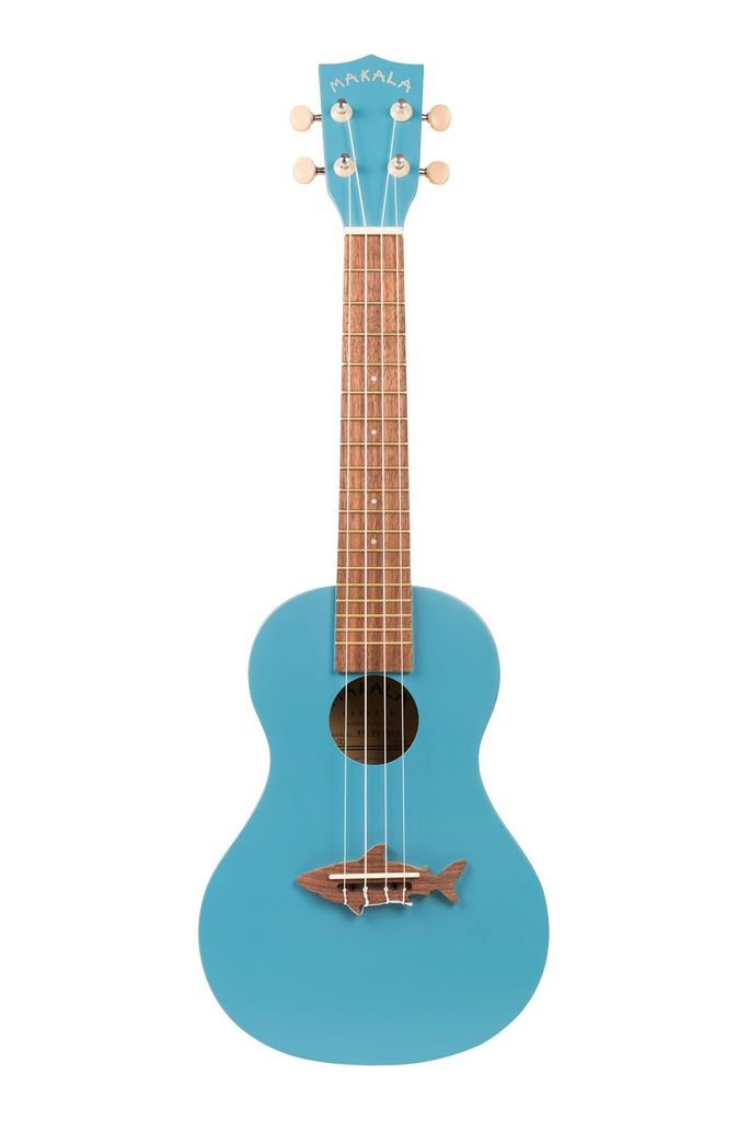 Makala - MK-CS Shark Series Concert Ukulele, Blue