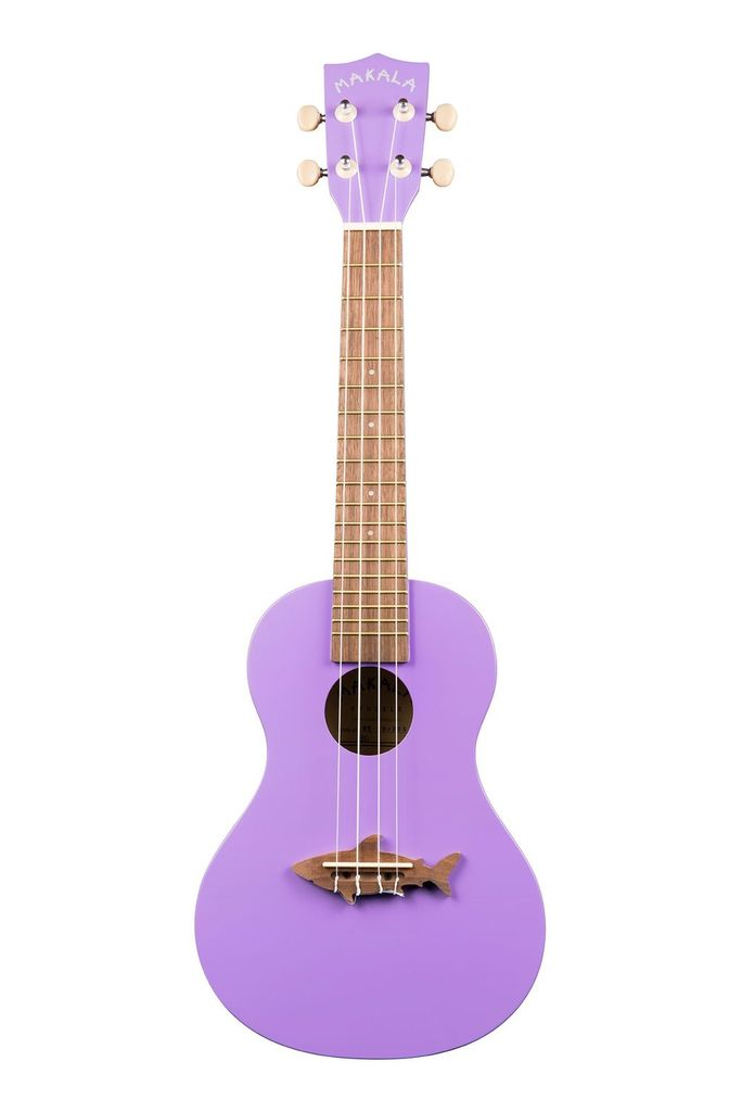 Makala - MK-CS Shark Series Concert Ukulele, Purple