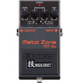 Boss - MT-2W Waza Craft Metal Zone Pedal