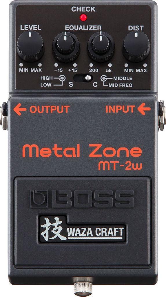 Boss - MT-2W Waza Craft Metal Zone Pedal
