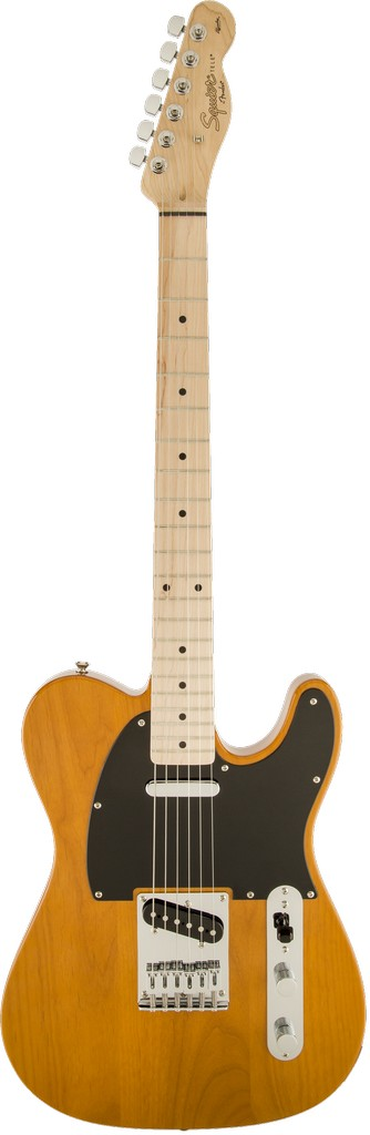 Squier - Affinity Telecaster, Maple Fretboard, Butterscotch Blonde