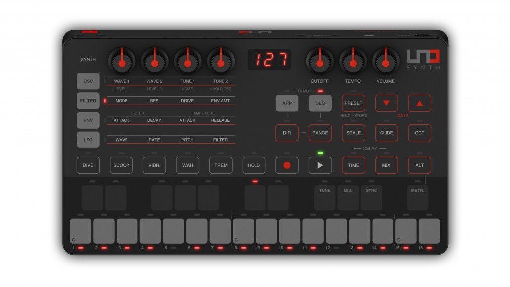IK Multimedia - Uno Synth Analog Synthesizer