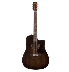 Art & Lutherie - Americana Series Dreadnought CW Acoustic Electric, Bourbon Burst