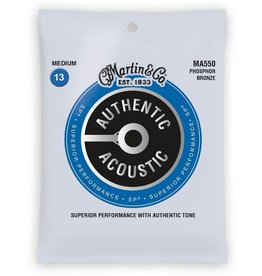 Martin - MA550 Authentic Phospher Bronze, 13-56 Medium