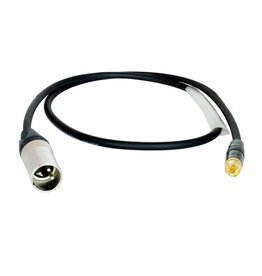 Digiflex - HRXM-3 Performance Series XLR M to RCA Phono Adapter Cable, 3'