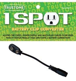 Truetone - TT-CBAT 1 Spot Battery Clip Convertor