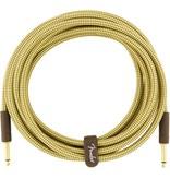 Fender - Deluxe Series Instrument Cable, Tweed, 15'