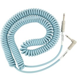 Fender - Original Series Coil Cable, Daphne Blue, 30'