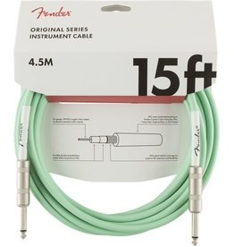 Fender - Original Series Instrument Cable, Surf Green, 15'