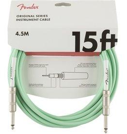 Fender - Original Series Instrument Cable, Surf Green, 15'