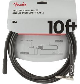 Fender - Professional Series Instrument Cable, Straight/Right Angle, 10'