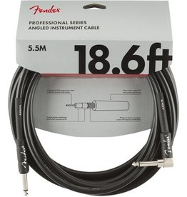 Fender - Professional Series Instrument Cable, Straight/Right Angle, 18.6'