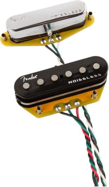 Fender - Gen 4 Noiseless Telecaster Pickups, Set of 2