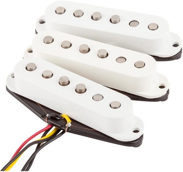 Fender - Tex-Mex Strat Pickup Set, White