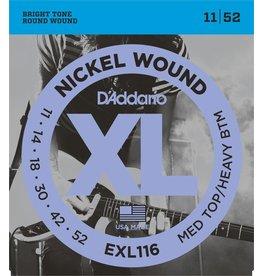 D'Addario - XL Nickel Wound, 11-52 Medium Top/Heavy Bottom