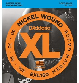 D'Addario - XL 4 String Bass, 50-105 Long Scale