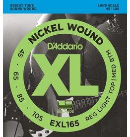 D'Addario - XL 4 String Bass, 45-105 Long Scale