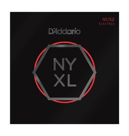 D'Addario - NYXL Nickel Wound, 10-52 Light Top/Heavy Bottom