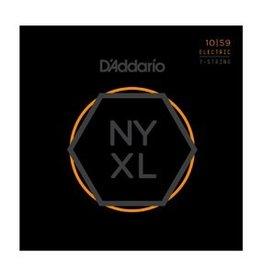 D'Addario - NYXL 10/59 7-String Regular Light