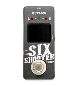 Outlaw - Six Shooter Chromatic Tuner Pedal