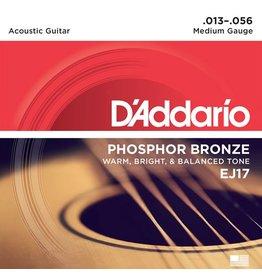 D'Addario - Phosphor Bronze, 13-56 Medium