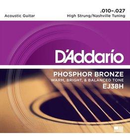 D'Addario - Phosphor Bronze, 10-27 Nashville/High Strung Tuning