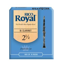 Rico - 10 Pack of Bb Clarinet Reeds, 2.5