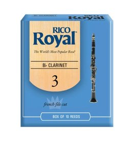 Rico - 10 Pack of Bb Clarinet Reeds, 3