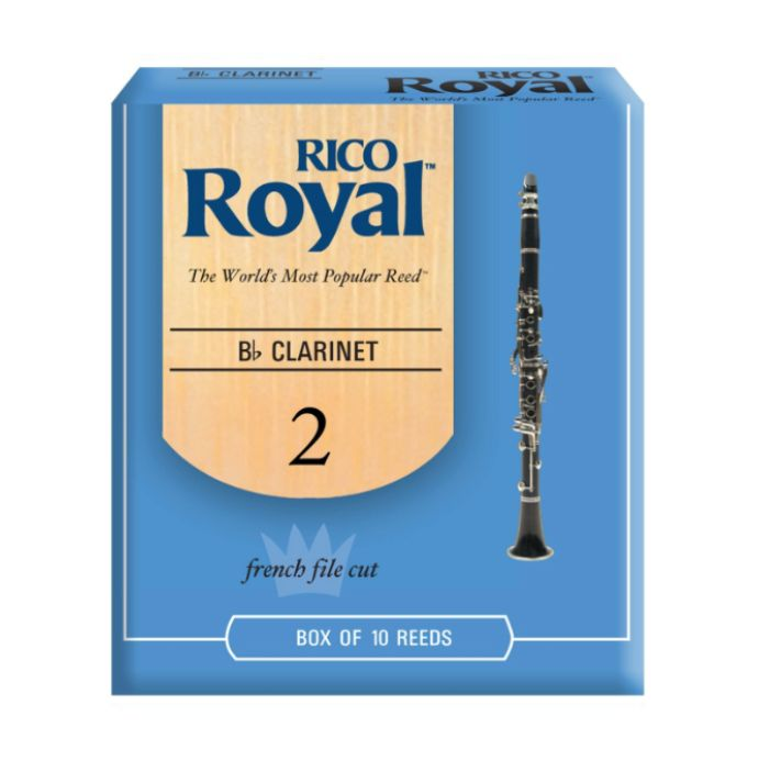 Rico - 10 Pack of Bb Clarinet Reeds, 2