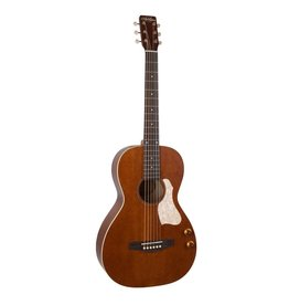 Art & Lutherie - Roadhouse Q-Discrete Parlour A/E, Havana Brown