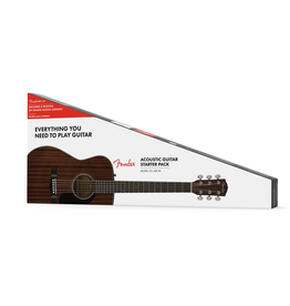 Fender - CC-60S Concert Pack V2, All Mahogany