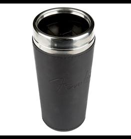 Fender - Travel Mug 16oz w/Black Leather