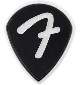 Fender - F Grip 551 Picks, Black, 3 Pack