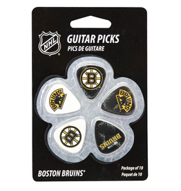 - Boston Bruins NHL Guitar Picks, 10 Pack