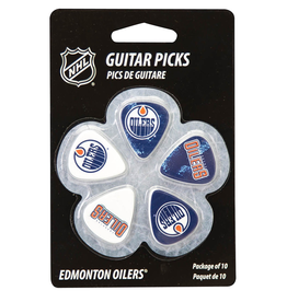 - Edmonton Oilers NHL Guitar Picks, 10 Pack