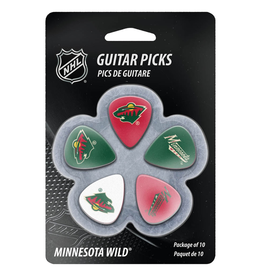 - Minnesota Wild NHL Guitar Picks, 10 Pack