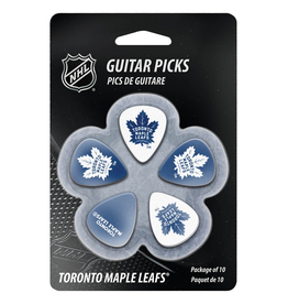 - Toronto Maple Leafs NHL Guitar Picks, 10 Pack