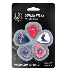 - Washington Capitals NHL Guitar Picks, 10 Pack