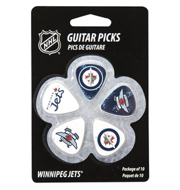 - Winnipeg Jets NHL Guitar Picks, 10 Pack