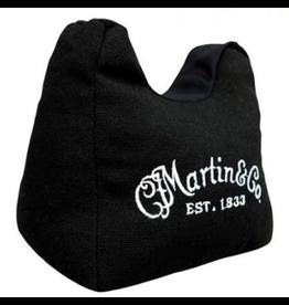 Martin - Guitar Neck Holder w/White Logo, Black