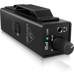 Behringer - P2 Ultra-Compact Personal In-Ear Monitor Amplifier