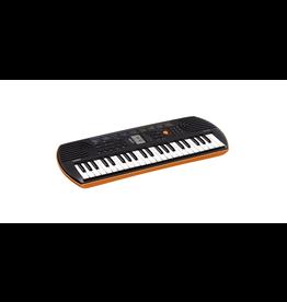 Casio - SA-76 44-Key Portable Battery-Powered Mini Keyboard